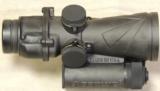Browe 4x32 Combat Optic BCO & QD mount * Green Ring & Dot - 2 of 3