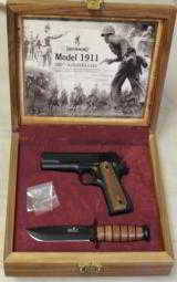 Browning 1911-22 & Ka-Bar 100th Anniversary .22LR Caliber Boxed Set