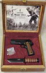 Browning 1911-22 & Ka-Bar 100th Anniversary .22LR Caliber Boxed Set