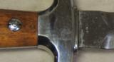Post WWII Swiss Officer Dagger & Scabbard S/N 20656 - 4 of 4