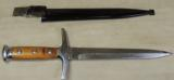 Post WWII Swiss Officer Dagger & Scabbard S/N 20656 - 3 of 4