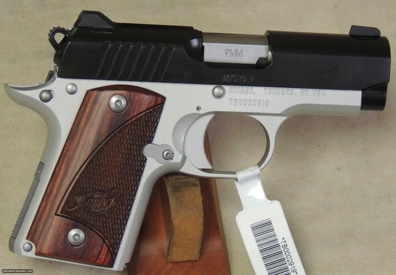 Kimber NEW Micro 9 Two Tone 9mm Caliber pistol S/N PB0010808