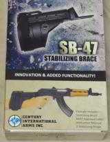 Century International Arms SB-47 Stabilizing Brace for AK-47 Pistol NIB