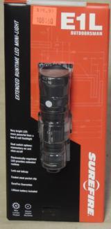 SureFire E1L Outdoorsman 25 Lumens LED Flashlight NEW