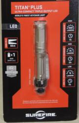Surefire Titan Plus Ultra-Compact Triple-Output 300 Lumen LED Flashlight NEW