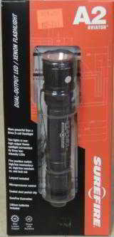 SureFire A2 Aviator Dual-Output 50 Lumen LED / Xenon Flashlight NEW - 1 of 3