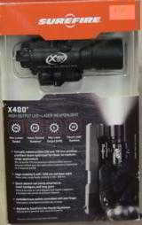 SureFire X400 Tactical Weaponlight w/ Laser NEW