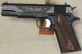 "Nighthawk Custom ""We The People"" 1 of 100 Limited Edition .45 ACP Caliber 1911 Pistol S/N NC01809"