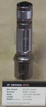 Surefire 6P Original Single Output Incandenscent 65 Lumen Flashlight NIB