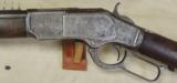 Winchester Model 1873 Engraved 44 WCF Caliber Sporting Rifle S/N 402762B - 2 of 25