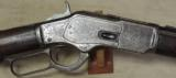 Winchester Model 1873 Engraved 44 WCF Caliber Sporting Rifle S/N 402762B - 14 of 25