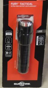 SureFire P2X Fury Tactical 500 Lumens LED Flashlight NEW
