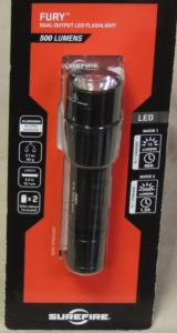 SureFire P2X Fury 500 Lumens LED Flashlight NEW