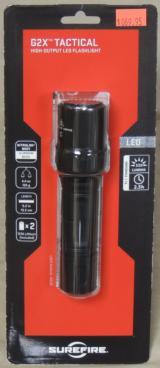 SureFire G2X Tactical 320 Lumen LED Flashlight NEW