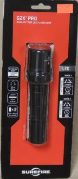 SureFire G2X Pro 200 Lumen Dual Output LED Flashlight NEW