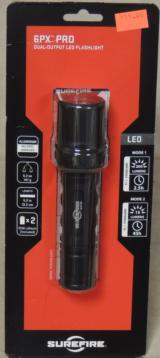 SureFire 6PX PRO 200 Lumen Dual-Output LED Flashlight NIB - 2 of 3