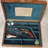 Cased Colt 1862 Police .36 Caliber Percussion Revolver S/N 11029 - 1 of 12