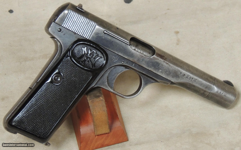FN 1922 Commercial .32 ACP Caliber Pistol S/N 85281