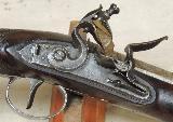 H.W. Mortimer London Gun Maker To His Majesty British 52 Caliber Heavy Flintlock Pistol- 11 of 12
