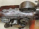 H.W. Mortimer London Gun Maker To His Majesty British 52 Caliber Heavy Flintlock Pistol- 8 of 12