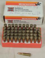 Winchester Super X 218 BEE Caliber 46 Grain Hollow Point *50 Centerfire Cartridges