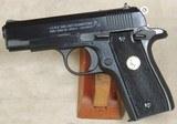 Colt Government .380 ACP Caliber Micro 1911 Pistol NIB S/N RC53809