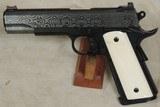 Republic Forge Republic .45 ACP Caliber Damascus 1911 Pistol NIB S/N RF281XX