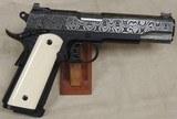 Republic Forge Republic .45 ACP Caliber Damascus 1911 Pistol NIB S/N RF281XX - 6 of 8