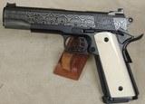 Republic Forge Republic .45 ACP Caliber Damascus 1911 Pistol NIB S/N RF281XX - 3 of 8