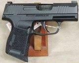 Sig Sauer P365 9mm Caliber Pistol NIB S/N 66A250057XX