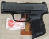 Sig Sauer P365 9mm Caliber Pistol NIB S/N 66A250052XX