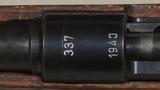 """Mauser """"337"""" Mod K-98 Rare 1940 8mm Mauser Caliber Military Rifle S/N 5368DXX - 15 of 20"""