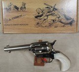 "Uberti Outlaws & Lawmen ""Doc"" 1873 SA Cattleman .45 Colt Revolver NIB S/N UG5866 - 9 of 9"