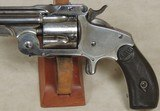 "Smith & Wesson 38 SA Model 2 1st Model ""Baby Russian"" Revolver S/N 13153XX - 2 of 8"