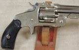 "Cased Smith & Wesson ""Baby Russian"" 38 S&W Caliber DA Model 2 1st Model Top Break Revolver S/N 7897XX - 10 of 13"