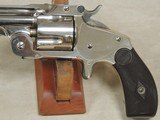"Cased Smith & Wesson ""Baby Russian"" 38 S&W Caliber DA Model 2 1st Model Top Break Revolver S/N 7897XX - 3 of 13"