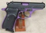 BERSA Thunder 380 ACP Caliber Pruple Frame Pistol NIB S/N J32111XX - 4 of 5