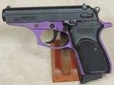 BERSA Thunder 380 ACP Caliber Pruple Frame Pistol NIB S/N J32111XX - 1 of 5