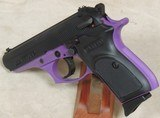 BERSA Thunder 380 ACP Caliber Pruple Frame Pistol NIB S/N J32111XX - 2 of 5