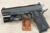 Nighthawk Custom 1911 GRP Recon .45 ACP Caliber Pistol w/ SureFire & Crimson Trace Grips S/N NCP25416XX