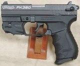 Walther PK380 Laser Set .380 ACP Caliber Pistol S/N PK029807XX