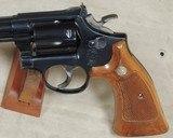 Smith & Wesson Model 17-5 K-22 Masterpiece .22 LR Caliber Revolver S/N BAF5486XX - 2 of 7