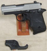 Sig Sauer P938 Two-Tone 9mm Caliber Pistol w/ Laser ANIB S/N 52A054839XX - 1 of 6