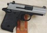 Sig Sauer P938 Two-Tone 9mm Caliber Pistol w/ Laser ANIB S/N 52A054839XX - 5 of 6