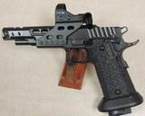 STI 2011 DVC Steel 9mm Caliber Competition Pistol & Optic S/N TX07043