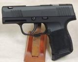Sig Sauer P365 SAS 9mm Caliber Pistol ANIB S/N 66A852555XX