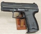 Heckler & Koch HK P2000 V2 .40 S&W Caliber Pistol S/N 123-014124XX