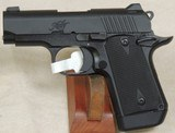Kimber Micro9 Black 9mm Caliber 1911 Pistol NIB S/N PB0356112XX