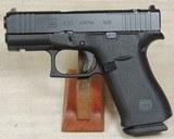 Glock Model G43x MOS Compact .9mm Caliber Pistol NIB S/N BPBD535XX