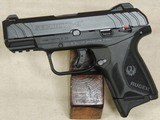Ruger Security 9 Compact 9mm Caliber Pistol NIB S/N 384-40067XX